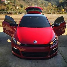 Volkswagen Scirocco R in Red . Owner Unknown