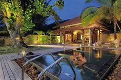 Dans le Spa du Sainte Anne Resort aux #seychelles