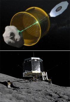 지구로 돌진하는 소행성, 우주서 '보쌈'해서 옮긴다