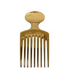 Zitomer   Janeke 1830 Golden Afro Comb