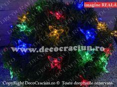 Ghirlanda luminoasa solara de gradina fluturi colorati leduri incarcare solara Christmas Bulbs, Exterior, Holiday Decor, Home Decor, Decoration Home, Christmas Light Bulbs, Room Decor, Outdoors, Interior Decorating