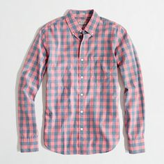 J.Crew Factory: slim washed shirt