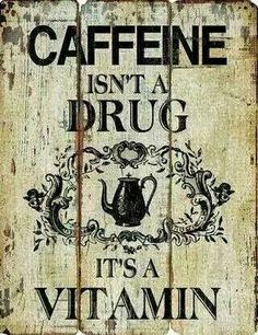 Coffee writes originally shared: Coffee lovers - Make sure you take your favorite vitamin!