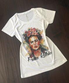 Frida Kahlo Shirt de NoemyStyle en Etsy