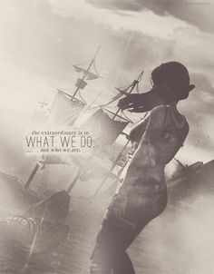 The extraordinary is in what we do, not who we are. ~ Lara Croft