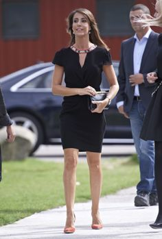 Princess Marie attended the Copenhagen Jewellery & Watch Show. August 24, 2014