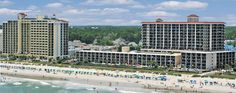 The Compass Cove Resort - a terrific place to stay, and has hosted golfers for years in Myrtle Beach.