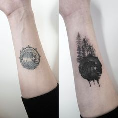 "4,118 Likes, 13 Comments - 타투이스트 홍담 (@ilwolhongdam) on Instagram: ""forest  cover-up  #coveruptattoo #tattoo #hongdam #타투 #홍담"""