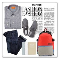 """""""TRENDS-MEN"""" by radnikbags ❤ liked on Polyvore featuring 7 For All Mankind, Keds, Tallia Orange, men's fashion and menswear"""