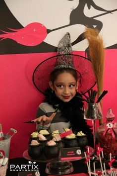 Witch Themed Halloween Birthday Party