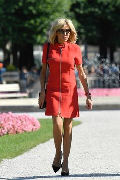 Brigitte Trogneux's Best Looks - The French First Lady's Most Stylish Looks