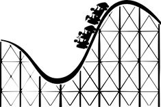 roller coaster cartoon side view pictures - Google Search