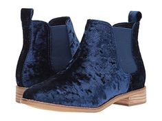 Suede shoes are very impractical in rainy Vancouver but I want these anyway. Toms Ella. $98 US