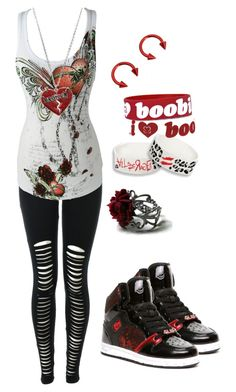 Heart Broken by bvb3666 on Polyvore featuring Keep A Breast