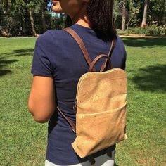 Check out this eco business @ecocork This business sells #cork #sustainable #vegan #handbags #accessories Bags made out of cork? Now that is definitely something unique and something you don't see everyday. Not only is it sustainable its 100% vegan its water and stain resistant plus its light weight so even if you have a lot of things to put in your bag it won't weigh you down!  Write down in the comments below if you would buy a cork bag. Follow us at @consumedifferently for more info about…