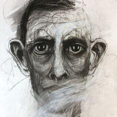 Deb Weiers - Charcoal Study 5