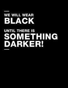 [deep black collection]