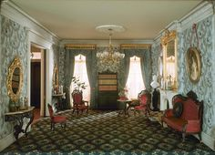 Thorne Miniature Rooms - New York City - 28 East 20th Street - Parlor - 1850-1875