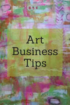 For tips on how to create better products, promote  your products + how to succeed in the art business follow this board.