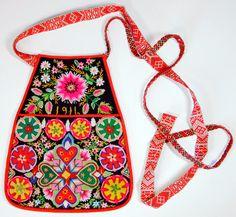 Swedish folk costume bag  from 1916