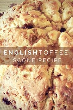 English Toffee Scone...