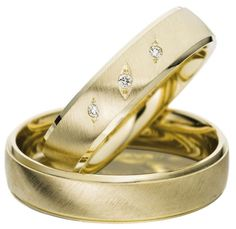 The Wedding Band Shop – Wedding Rings Dublin Ireland: Yellow Gold Ring with Satin Finish