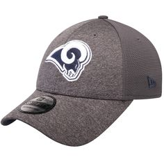 size 40 c2a99 2f02d Men s Los Angeles Rams New Era Graphite Shadowed Team 2 39THIRTY Flex Hat,  Your Price
