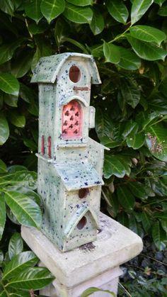 Edith Léon Ceramics, keramiek, céramique birdhouse, maison d'oiseau, voegelhuis, 28-09-2015