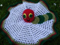 Baby's Comfort Blanket with The Hungry Caterpillar $4.40
