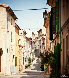 Alcudia - Old Town, Mallorca