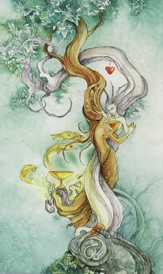 Card of the Week - Two of Cups - Shadowscapes Tarot This week there could be a new partnership on the horizon. http://www.tranquilitytarot.com/card-of-the-week-two-of-cups-2/
