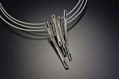 Torri Necklace by Davide Bigazzi (Gold & Silver Necklace) | Artful Home