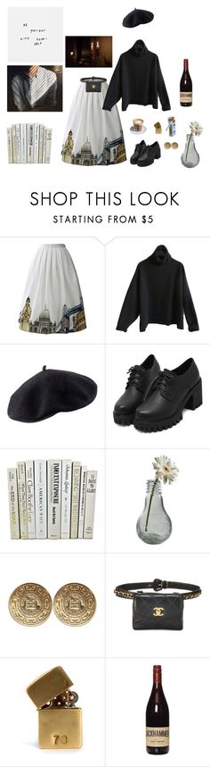 """""""CheiaSol"""" by shizuneaoi ❤ liked on Polyvore featuring Chicwish, H&M, Dot & Bo, Givenchy, Saeco and In God We Trust"""