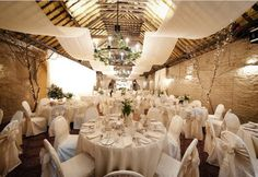10 Best Barn Venues in the World | Larchfield Estate | Bridal Musings 1