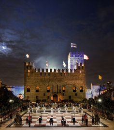 The human chess game - Marostica (Vicenza), Veneto, Italy