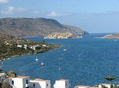 View from balcony: Crete Greece