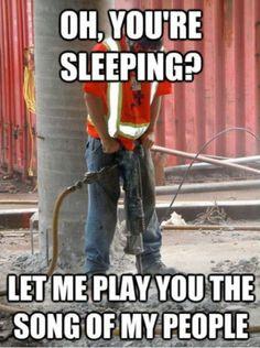 Sleeping?