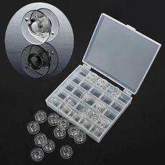#Clear bobbins sewing machine tool spools  ad Euro 3.99 in #Rhinestone case #Elettronica