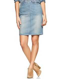 jean skirt | My Style | Pinterest | Woman clothing, Products and ...