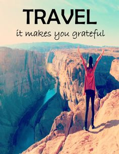 More reasons to travel and how travel heals depression!  #travel #grateful #tip #mentalhealth