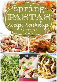 Spring Pastas Recipe Roundup