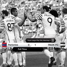 #PGSSPAOK 0-1 #PlayOffs #SuperLeague #win #PamePAOKARA