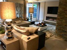 The Netherlands / Barendrecht / Private Residence / Living Room / Avalon / Cravt / Stout Lighting / Status Living / Eric Kuster / Metropolitan Luxury