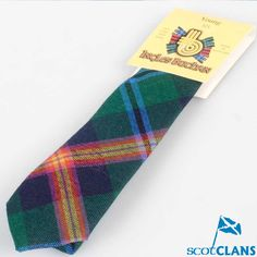 Clan Young Tartan Childs Tie