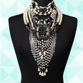 She Struck It Rich Limited Edition Neck, loving statement necklaces, really cute.