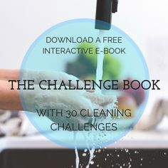 Motivation for cleaning with The Challenge Book #motivation #cleaning #challenge #30daychallenge