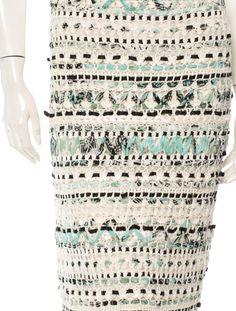 Oscar de la Renta Skirt - Bottoms - OSC28397 | The RealReal