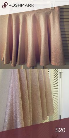 Women's sparkly pleated skirt Fun, flirty and sparkly! This pink with silver sparkles pleated skirt is perfect for a fun night out or Halloween costume party! Great condition. Skirts Mini