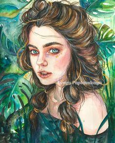 """WANT A FEATURE ? CLICK LINK IN MY PROFILE !!! Tag #LADYTEREZIE Repost from @lesya_poplavskaya Полное видео на эту работу плюс обзор моих новинок из @krasniy_karandash уже на канале! Заранее благодарю за просмотр! Ссылка в био) """"Breeze"""" A3 акварель /watercolor #watercolor #painting #aquarelle #рисунок #портрет #портрет_по_фото #акварель #живопись #lanaquarelle Все мои работы посмотреть приобрести или заказать подобные по #poplavskaya_art via http://instagram.com/ladyterezie"""