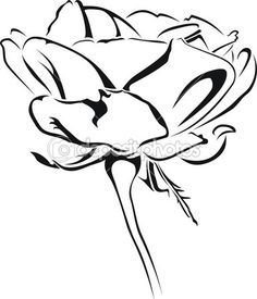 #valentinstag #tattoo #rot #roseate #rose #rand #noble #love #filigree #dekorierung #botany #blumen #Vektor #Tribal #Pflanze #Natur #Kunst #Dorn #Comely #Blume